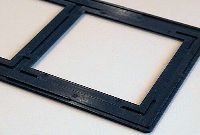 Stock 80x140mm plastic slide mount